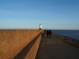 Everyone refers to the tower on the end of the pier as the lighthouse...