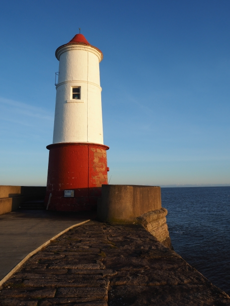 but the only light is a small navigation marker - 'the lighthouse' is mostly a daymark