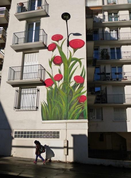 Street art in Menilmontant - March 2018