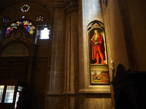 A saint in Florence - April 2018