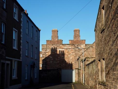 Shadow chimneys in Ravensdowne