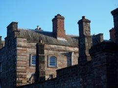 The early eighteenth century Berwick Barracks was designed by Nicholas Hawksmoor