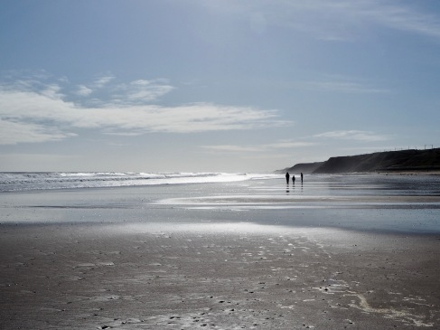 In March, as the country went into lockdown, the sense of space o Spittal beach felt doubly precious.