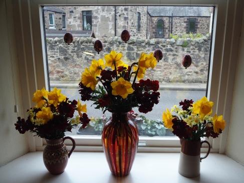Easter flowers - April