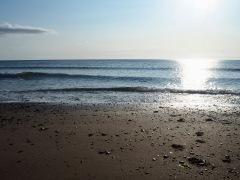 Summer sun on a calm sea - July 2019