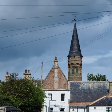 A fairytale tower tops an eye-catching primary school - Cromarty - May 2019
