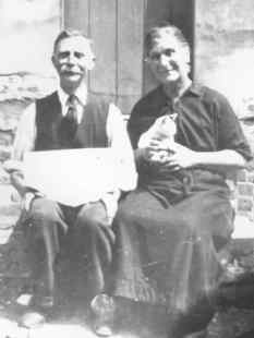 Robert and Harriet Smith, about 1925