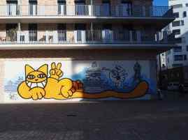 Metropolitan cat - St Ouen - October 2018