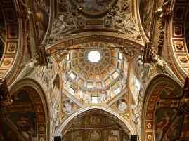 The golden ceiling of Chiesa di San Matteo - Genoa - October 2018